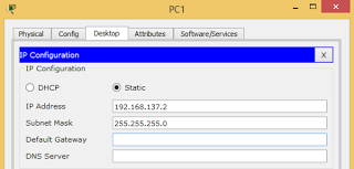 Membuat jaringan LAN dengan Cisco