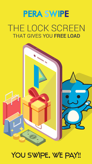 PERA SWIPE, The Lock Screen That Gives You Free Load!