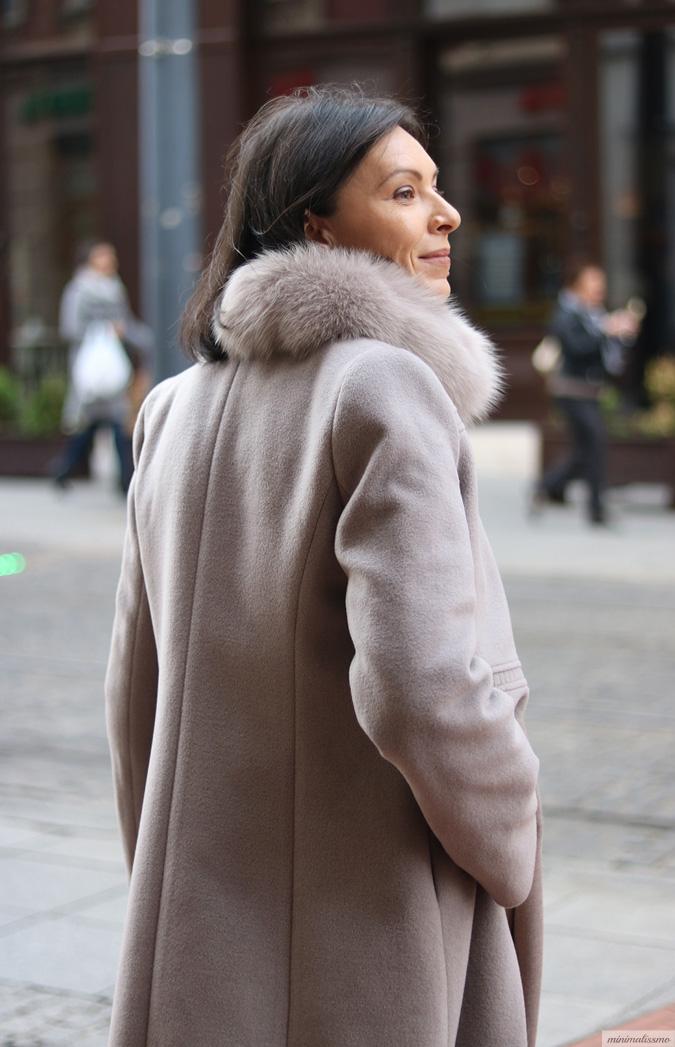Płaszcz z wełny alpaki