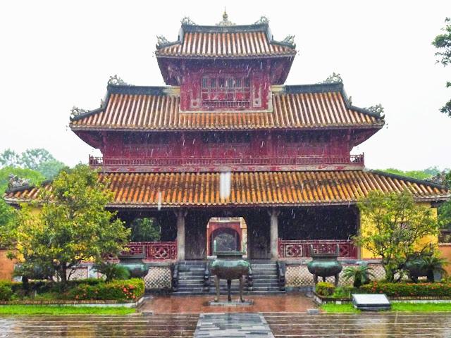 Hiem Lam, Ciudadela de Hué