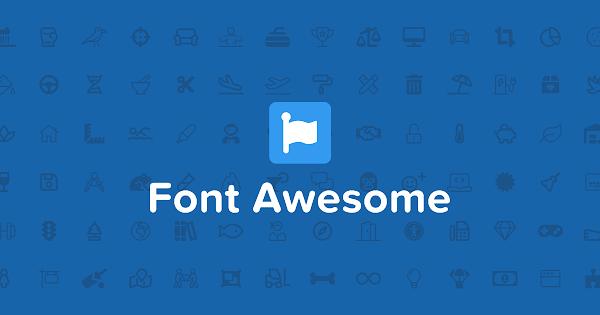 Cara Lengkap Memasang Dan Menggunakan Font Awesome