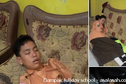 Wahai Pemerintah! Ini Contoh Dampak fullday school Terhadap Rakyat Jelatamu
