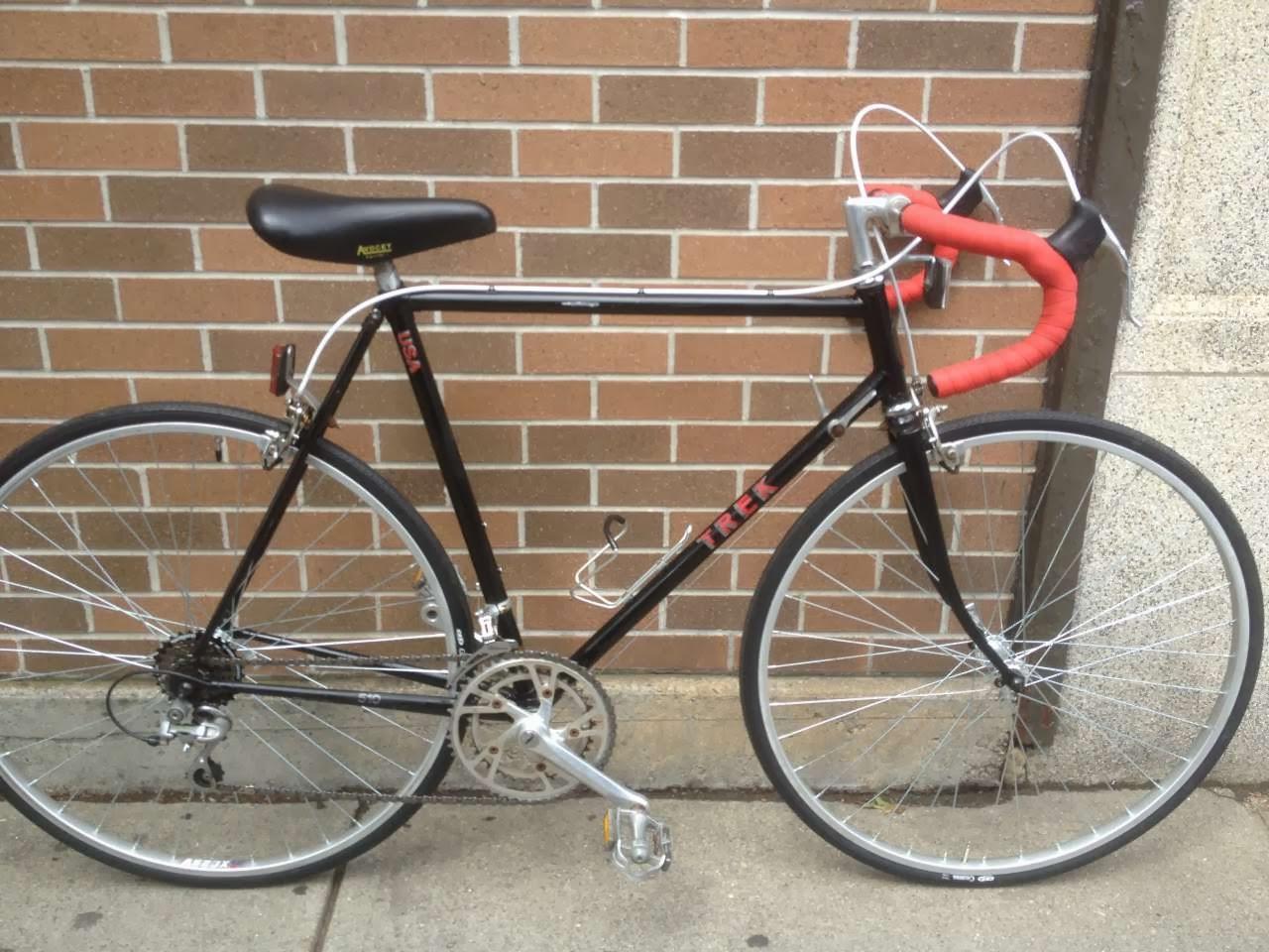 Bike Boom Refurbished Bikes 1985 Trek 510 Road Bike