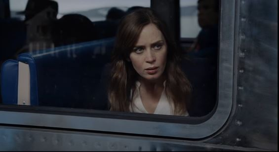 celeb in a train