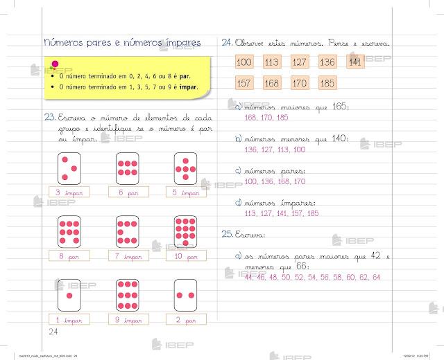 Caderno Do Futuro 4 Ano Matematica