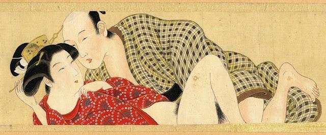 Сюнга: история японской пopнографической живописи