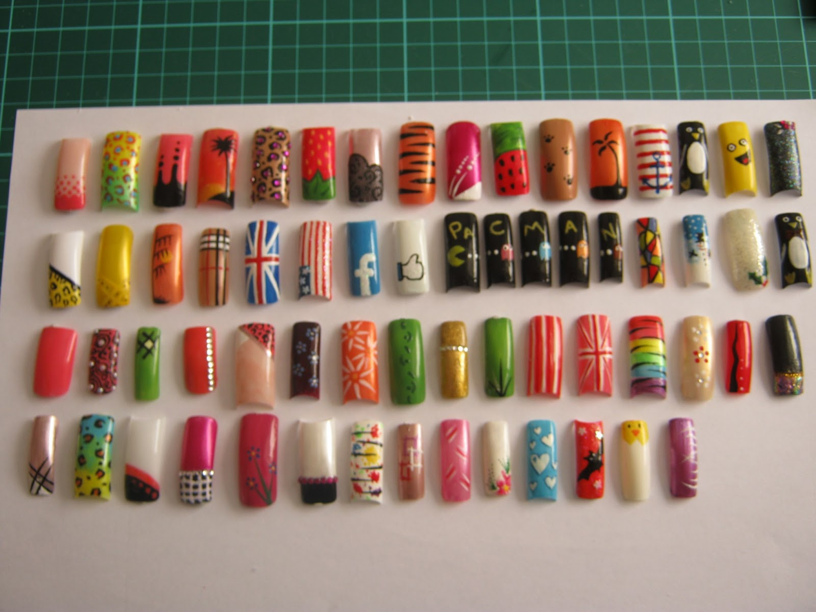 Nail Art Ideas: Art Now And Then: Nail Art