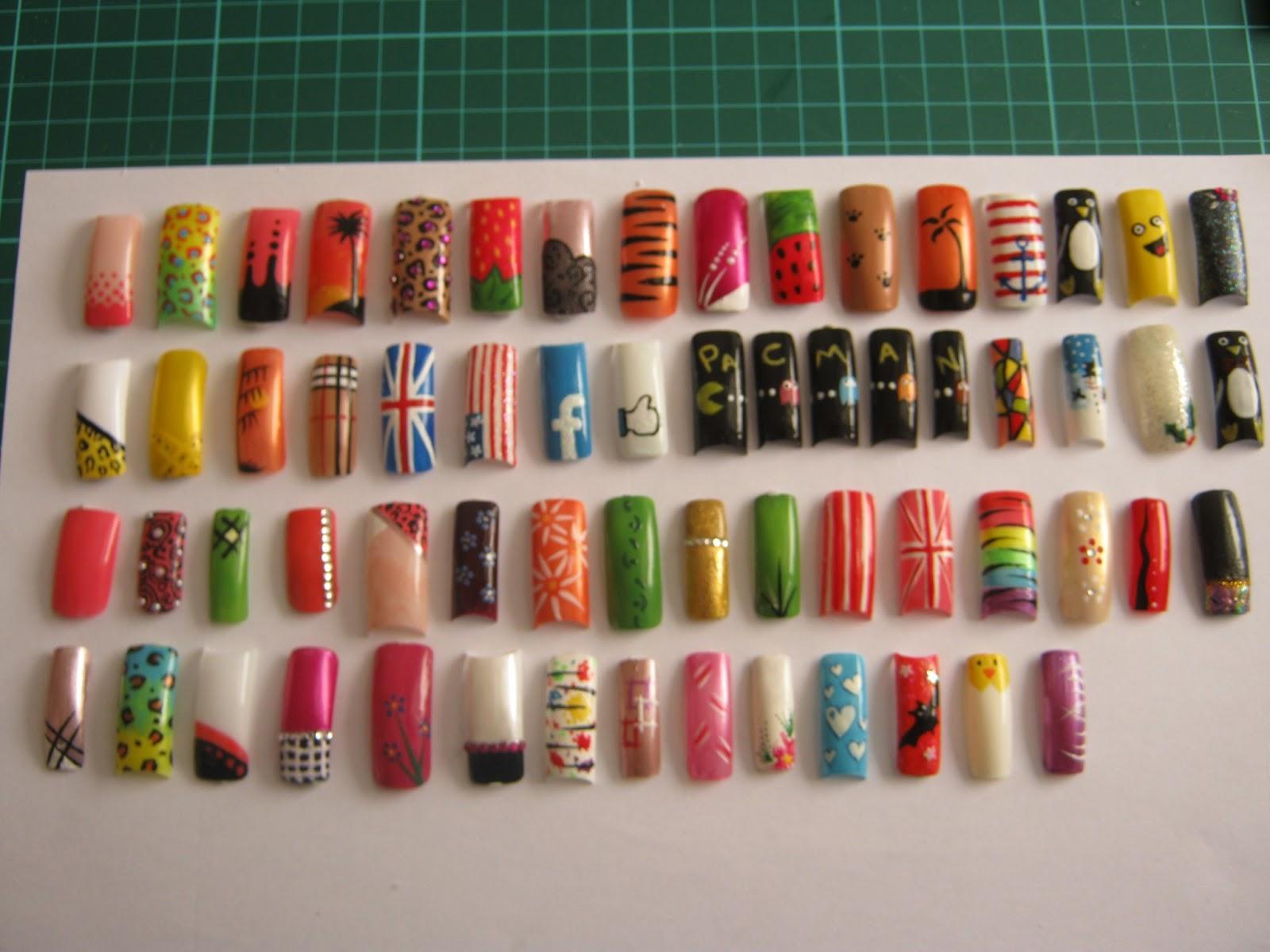 Nail Art Ideas: Art Now And Then: Nail Art