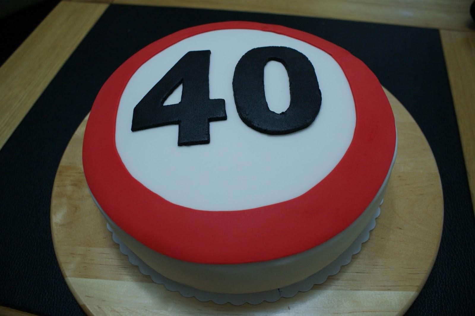 verjaardagstaart 40 jaar Cooking by Hülya: Taart 40 jaar verjaardagstaart 40 jaar