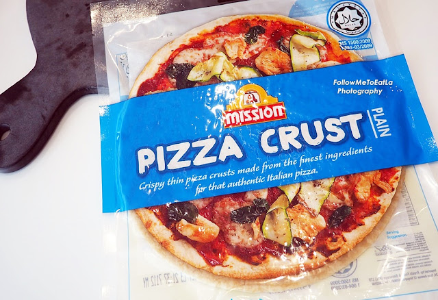 Plain Mission Pizza Crust