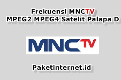 √ Update Frekuensi MNCTV Agustus 2020 MPEG2 MPEG4 HD Mhz
