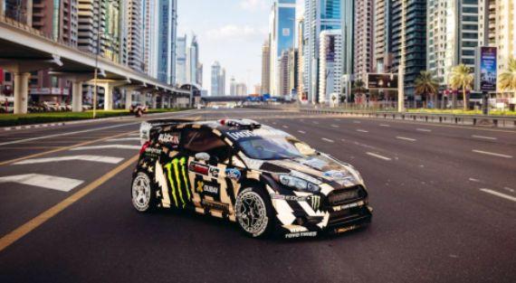 Ο Ken Block πήγε Ντουμπάι και γύρισε το Gynkhana 8 με το Ford Fiesta RX43 των 650 αλόγων.... (video)