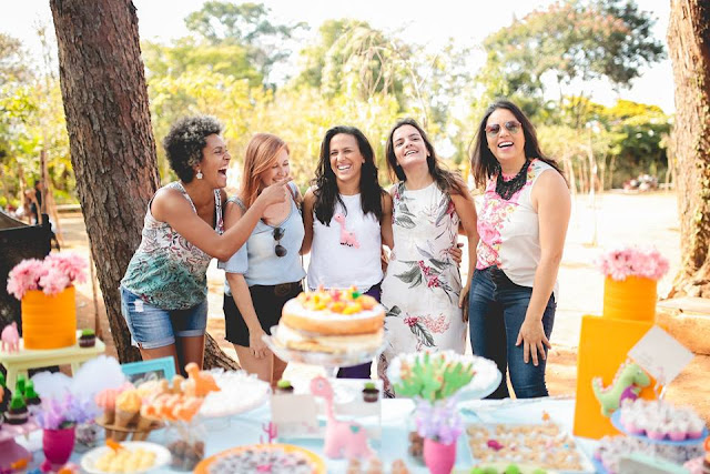 Aniversário Tema Dinossauro - Meninas - DIY - Belo Horizonte - festa no parque - Equipe Blog Mamãe Sortuda