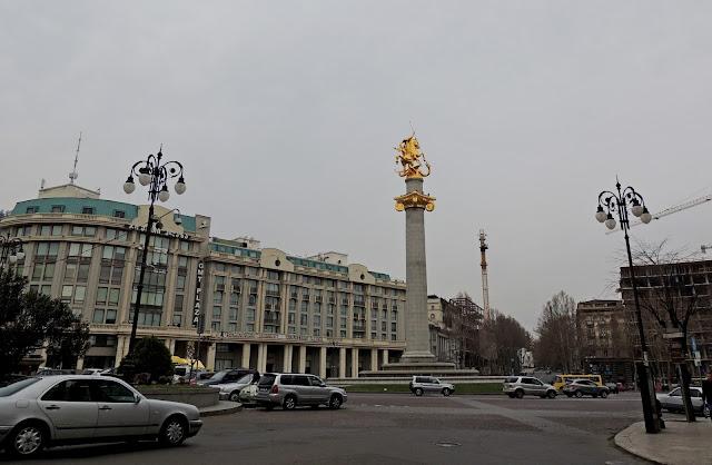 площадь свободы. тбилиси