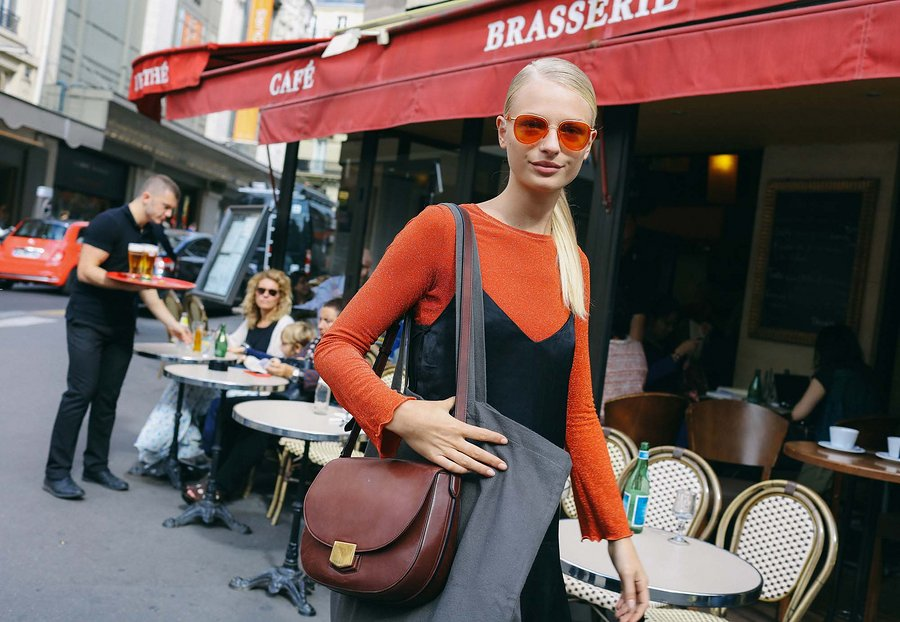 Street Style: Frederikke Sofie at Paris Fashion Week