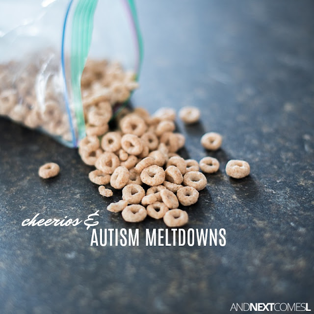A personal story about an autism meltdown that started with cheerios