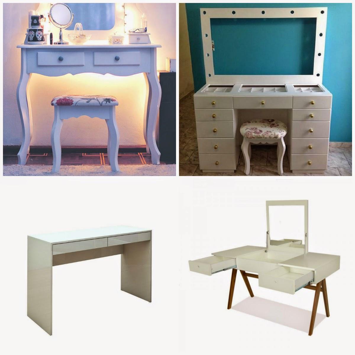 Penteadeiras mesas escrivaninhas todas são ótimas para servir de  #266B79 1200x1200