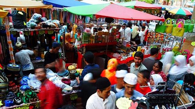 Pasar Kaget Gasibu / Pasar Kaget Monju