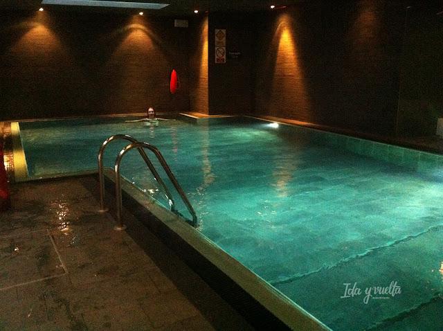 La piscina del hotel Apex Waterloo Place