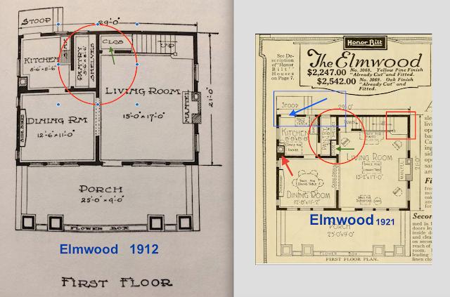 Sears Elmwood living room closet