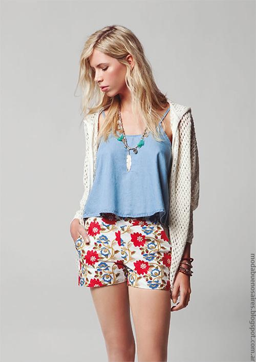 Shorts de moda mujer verano 2017 moda 2017.