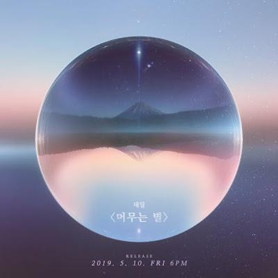 Taeil 태일 Block B 블락비  single comeback 머무는 별