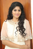 Megha Akash in beautiful Cream Transparent Anarkali Dress at Pre release function of Movie LIE ~ Celebrities Galleries 071.JPG