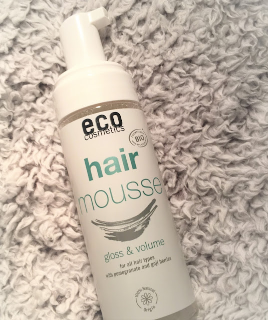 Eco Cosmetics Natural Hair Mousse
