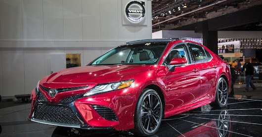 The Big Reveal: 2018 Toyota Camry at Detroit Auto Show