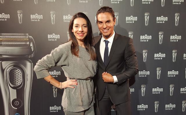 Braun Series 9 Tamara Vitón y Julio Iglesias Jr