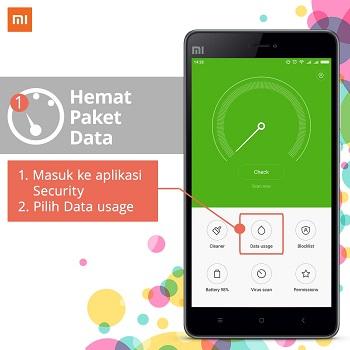 Cara Menghemat Data atau Kuota di Ponsel Xiaomi