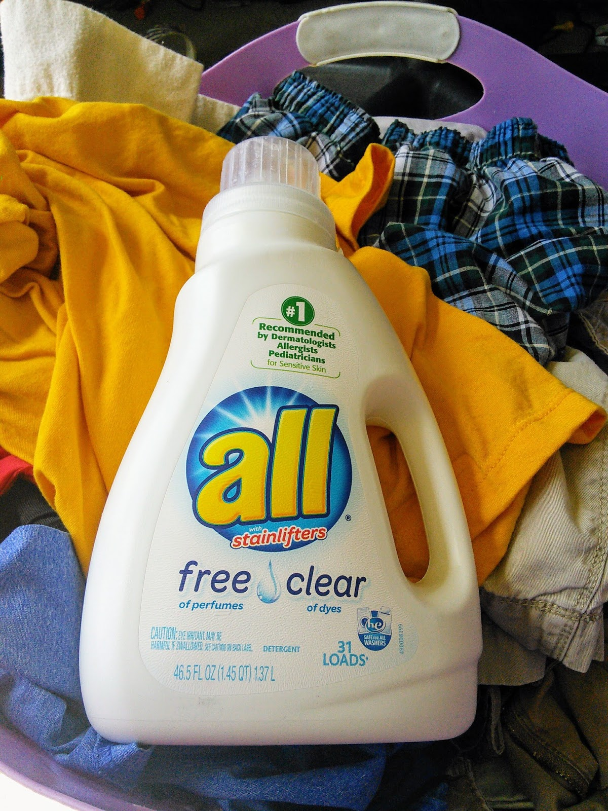 Mom Knows Best : Laundry Care For Messy Boys With Sensitive Skin