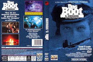 Carátula dvd: Das Boot / El submarino