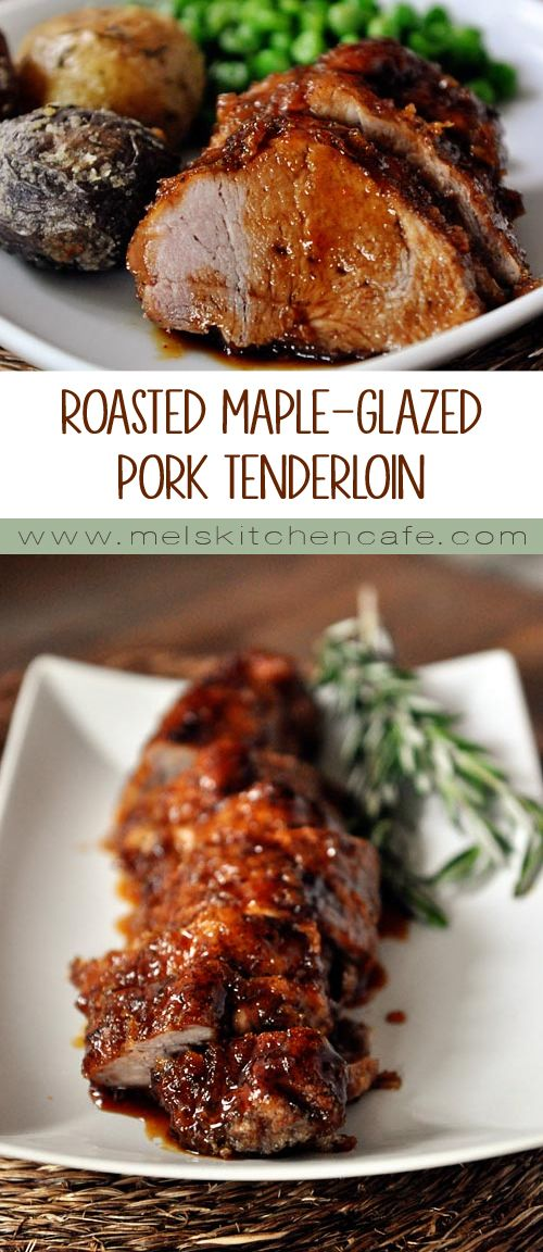 ROASTED MAPLE-GLAZED PORK TENDERLOIN