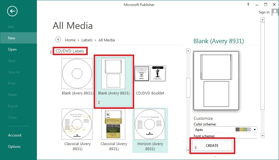 publisher dvd cover template - cara membuat cover luar cd dvd di microsoft publisher