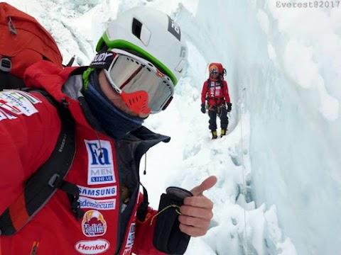 Everest-expedíció - Klein Dávid és Suhajda Szilárd elindultak a csúcsra