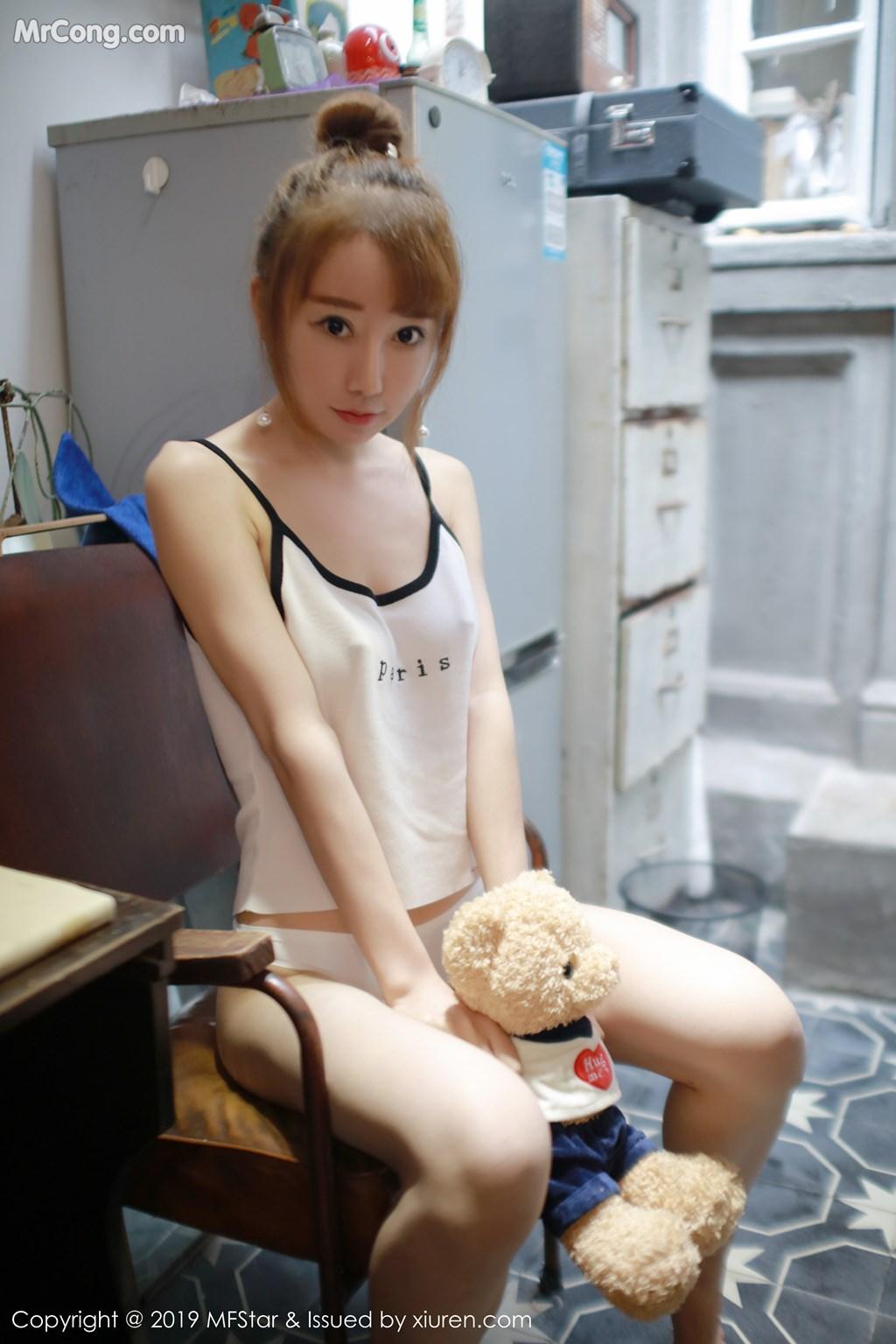 Image MFStar-Vol.188-Xia-Xiao-Xiao-Summer-MrCong.com-007 in post MFStar Vol.188: Xia Xiao Xiao (夏笑笑Summer) (41 ảnh)