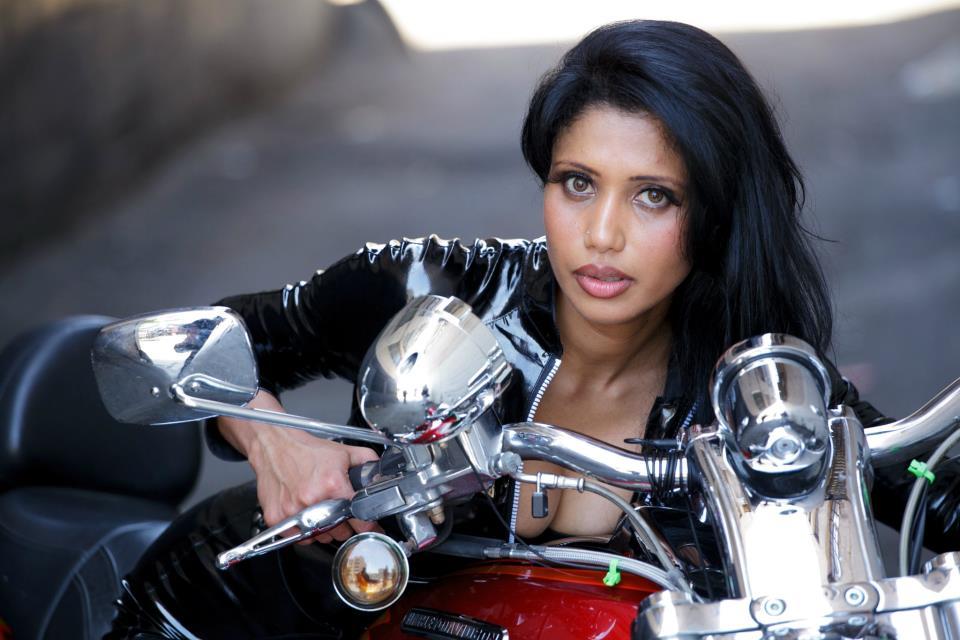 Morina Mail: Hot Fashion Model Harley Davidson