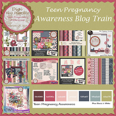 Digi Blog Train List Teen Pregnancy Awareness Freebie