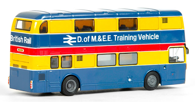 EFE 38119 - Bristol VRT - British Rail D of M & E E Training Vehicle This certificated model is registered BNU 679G and depicts the vehicle whist wearing its British Rail Livery. We believe this model will make a striking addition to any collection!  RRP £37.50