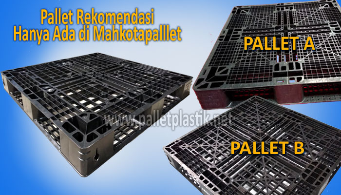 Pallet plastik one way series pilihan palletplastik.net