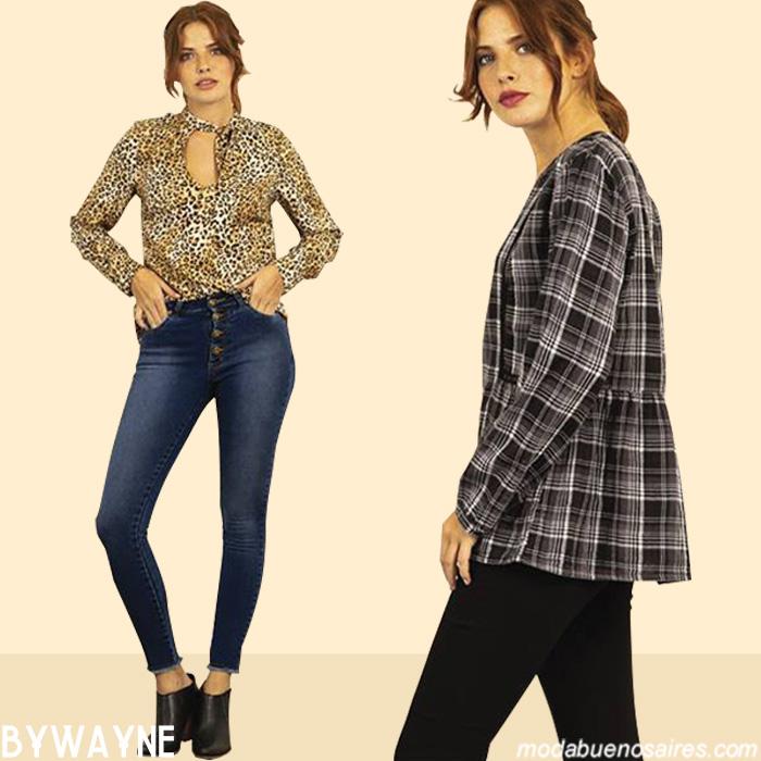 Blusas otoño invierno 2019 │Sacos otoño invierno 2019. │Moda otoño invierno 2019 ropa de mujer.