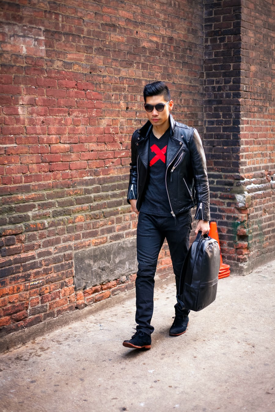 Levitate Style, Leo Chan - Ways to Wear a Leather Jacket Casual