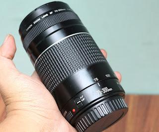 Jual Lensa Tele Canon 75-300mm iii USM Bekas