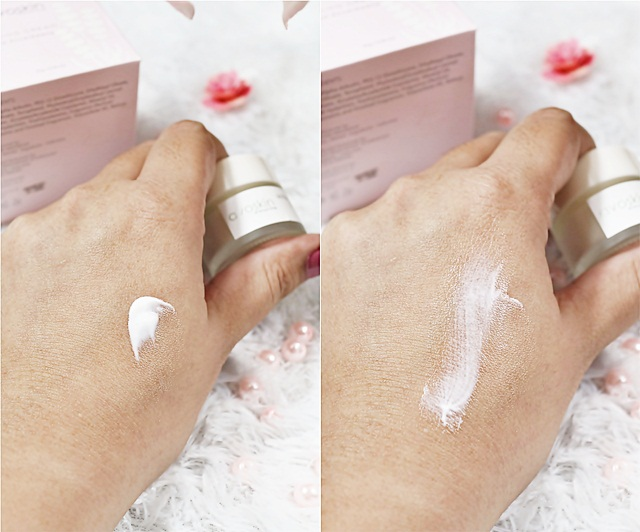 Swatch Avoskin Ultra Brightening Cream