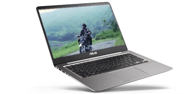 ASUS ZenBook UX410UQ Cocok Untuk Konten Kreator