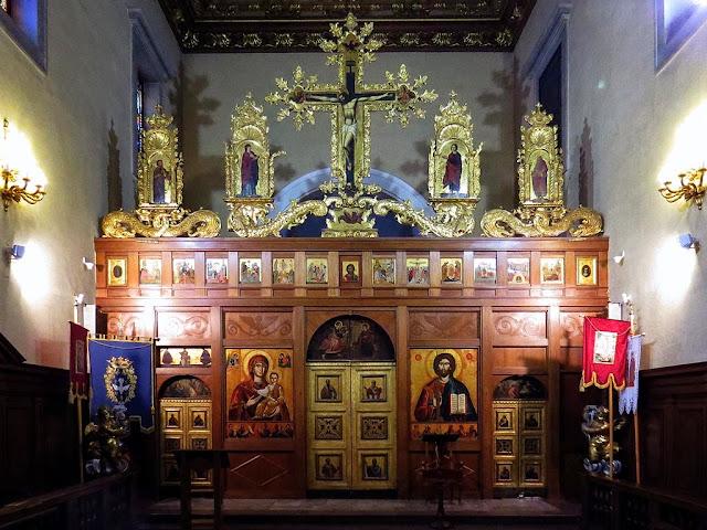 Iconostasi, chiesa della Santissima Annunziata, via della Madonna, Livorno