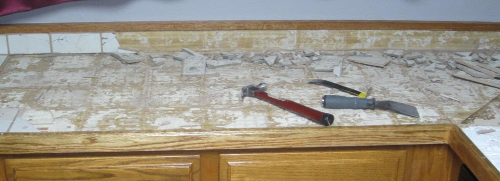 Giy Goth It Yourself Kitchen Makeover Counter Repair