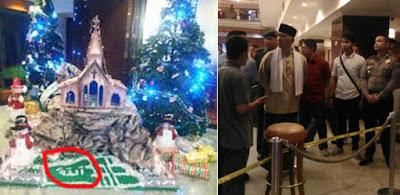 Sambil Menangis Minta Maaf ke Gubernur, Tersangka Pembuat Ornamen Natal Lafaz Allah di Hotel Novita mengaku menyesal