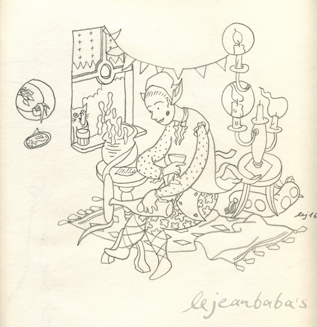 Das orientalische Mädchen